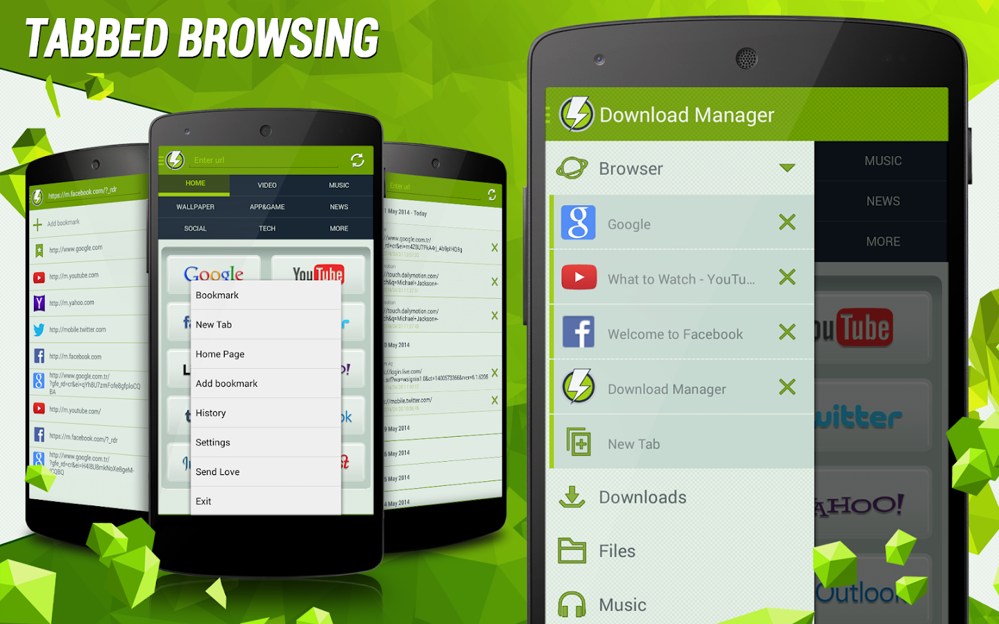 Download Manager for Android - screenshot