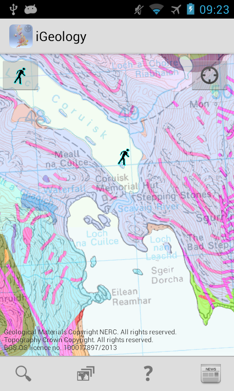 iGeology- screenshot