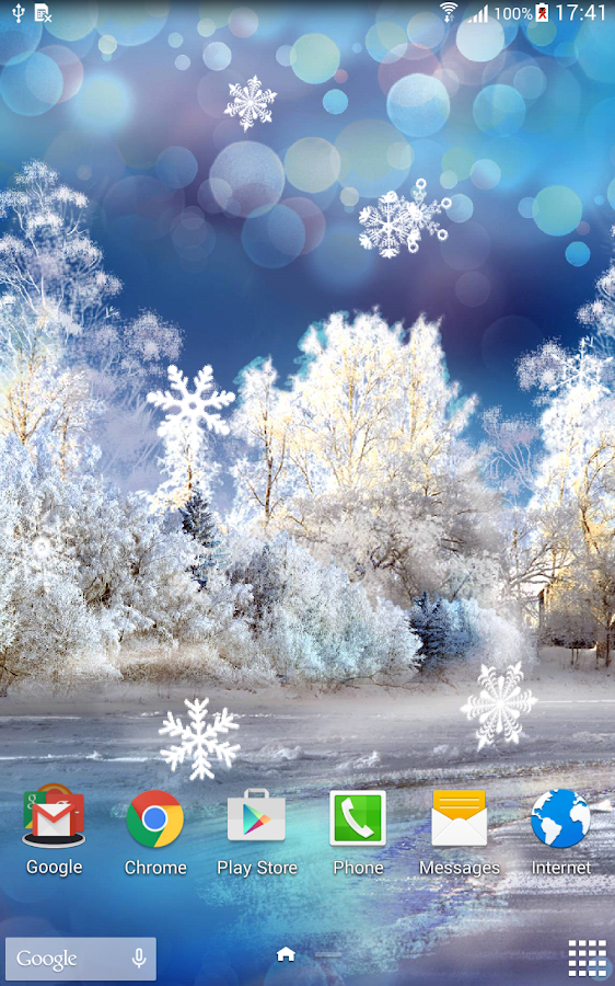 Snowfall Live Wallpaper Android Apps on Google Play
