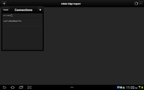 Adobe Edge Inspect CC - screenshot thumbnail