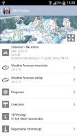 Screenshot of iSKI Polska
