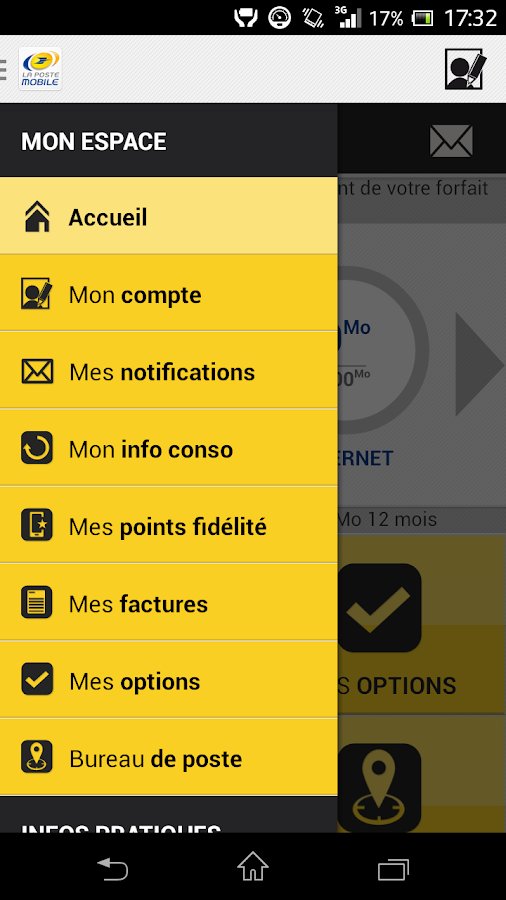 mon espace la poste mobile applications android sur google play. Black Bedroom Furniture Sets. Home Design Ideas