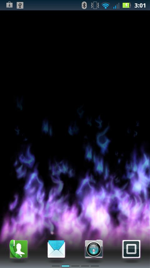 Flames Live Wallpaper - screenshot