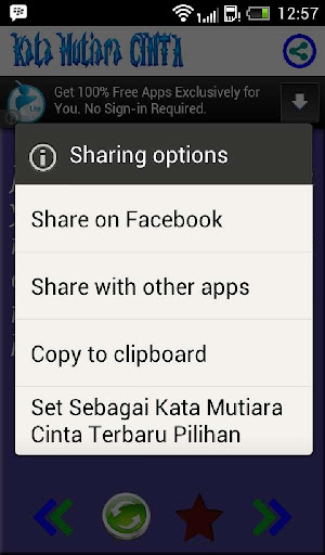 【免費書籍App】Kata Mutiara Cinta Terbaru-APP點子