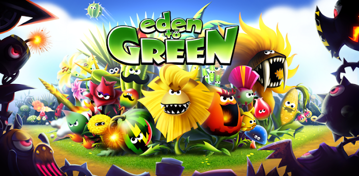 Eden to Green - игра, похожая на Plants vs Zombies скачать для android