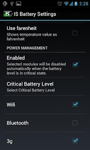 IS Battery Saver - screenshot thumbnail