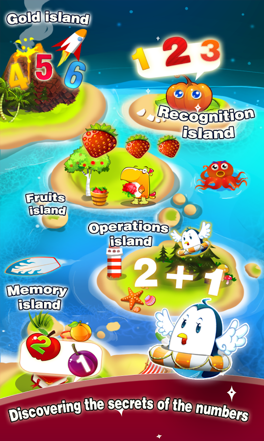 Kids math - educational game- screenshot