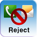 Call/Message Reject logo