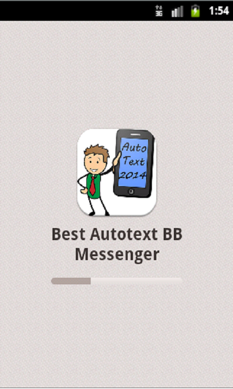 Best Autotext BB Mesenger 2014 - screenshot