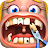 Crazy Dentist - Fun games logo