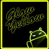 GOKeyboard Theme Glow Yellow