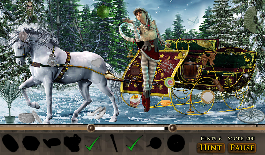 Hidden Object: Christmas Magic- screenshot