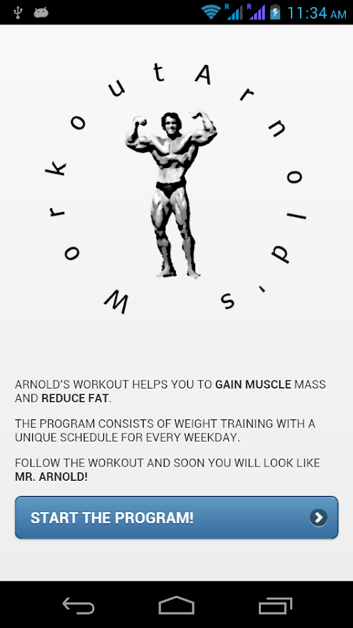 Arnold's Workout - screenshot