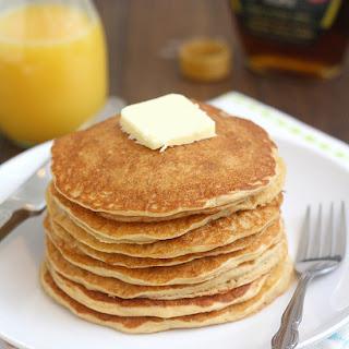 Homemade Whole Grain Pancake Mix.
