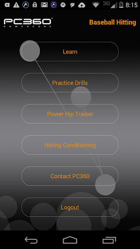 PC360 Baseball Hitting App