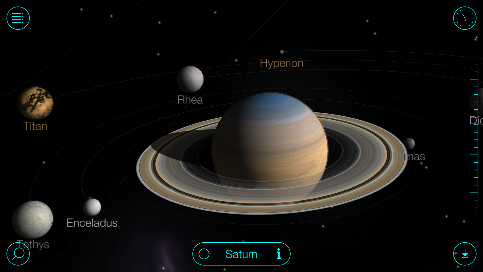 Solar Walk Free Sonnensystem Und Planeten 3d Android