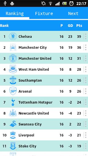 Premier league fixtures 2014