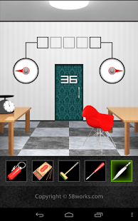 DOOORS2 - room escape game - - screenshot thumbnail