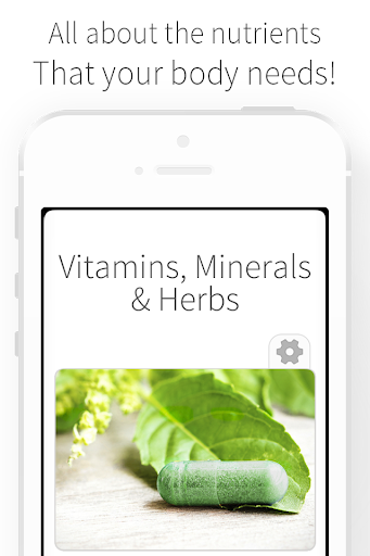 Vitamins Minerals and Herbs