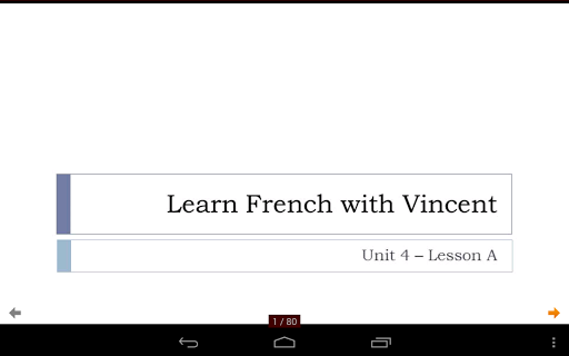 French with Vincent - Unit 4