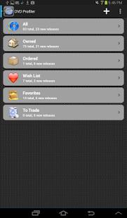 DVD Profiler- screenshot thumbnail