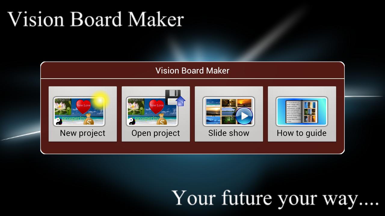 Vision Board Maker - screenshot