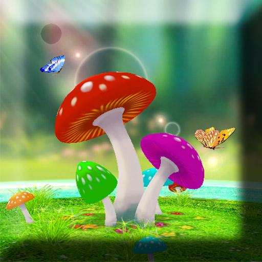 3D Mushrooms Live Wallpaper 8.80 Mb  Latest version for free download on General Play