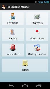 Prescription Monitor - screenshot thumbnail