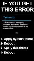 Screenshot of Black Infinitum Theme - Free