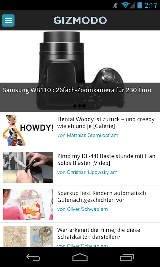 Gizmodo.de - screenshot