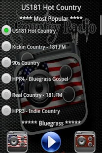 Free Country Radio - screenshot thumbnail