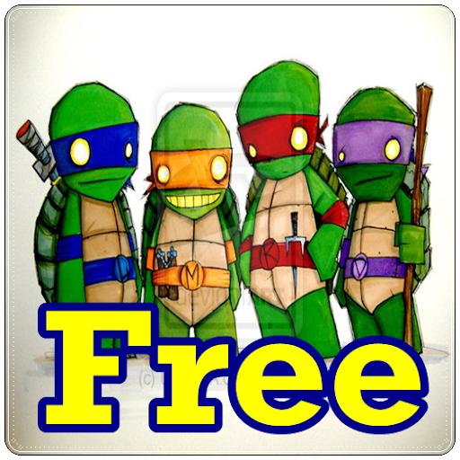 free ninja turtle puzzles