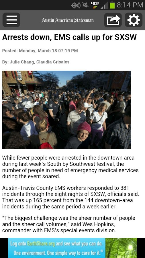 Breaking News by The Statesman - screenshot
