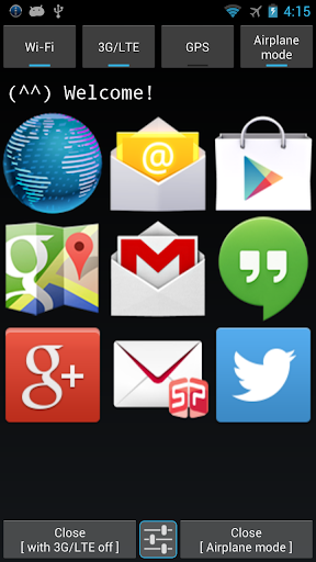 Comm app Launcher