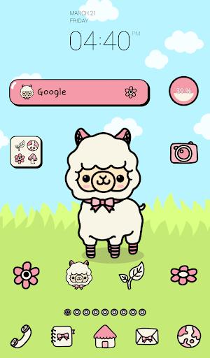 alpaca peanut dodol theme