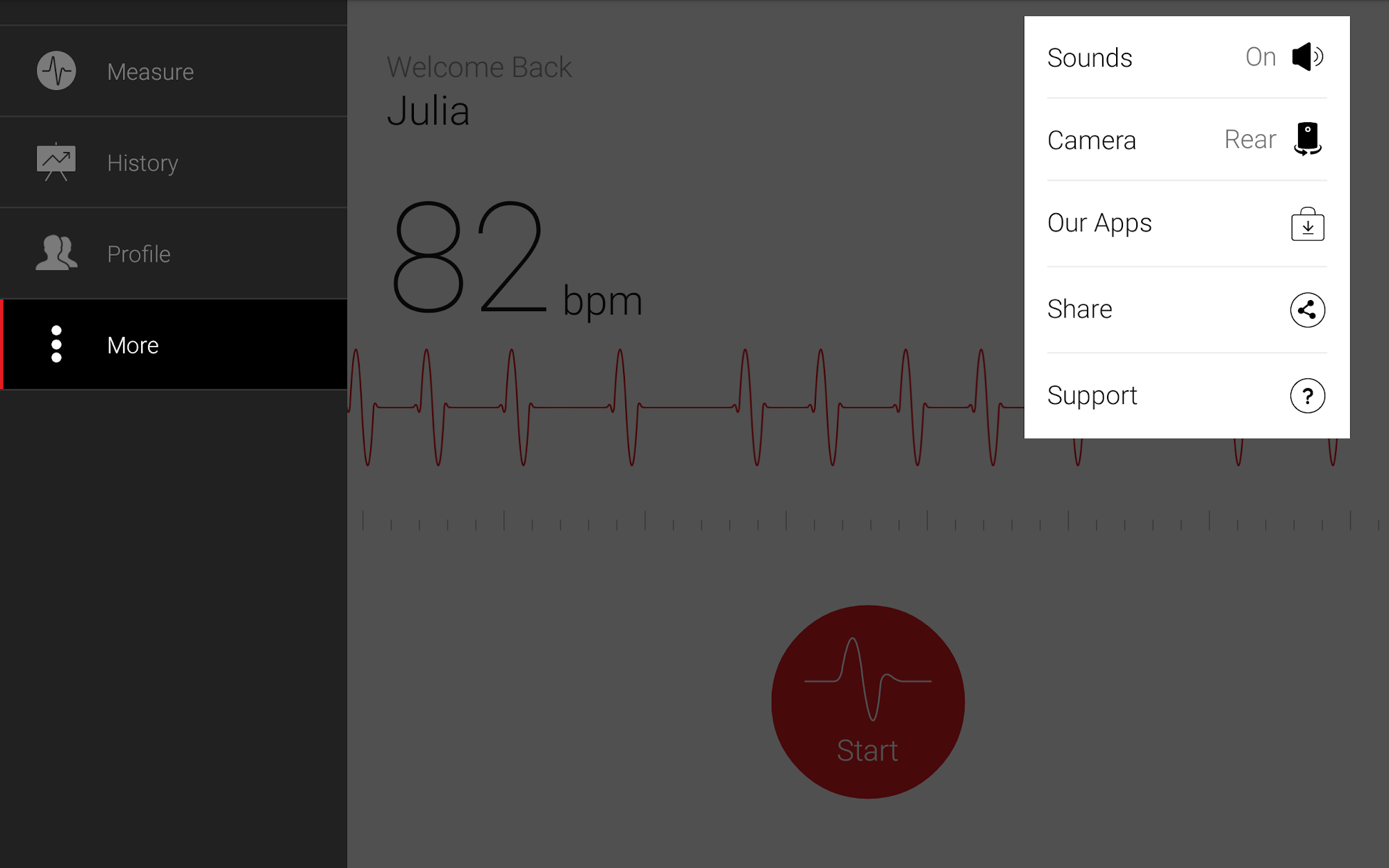 Cardiograph - Heart Rate Meter screenshot #10