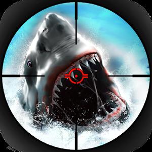 饥饿的鲨鱼猎人 - 3D游戏 動作 App LOGO-APP試玩