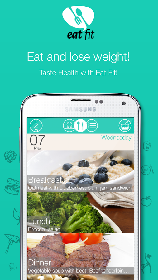 Eat Fit - Diet and Health Free- screenshot