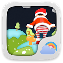 Christmas Dynamics GOWeatherEX icon