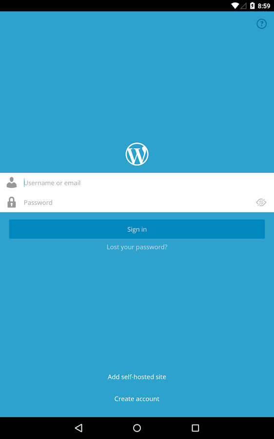 WordPress- screenshot