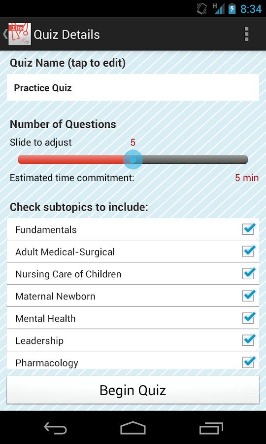 ATI RN Mentor Lite NCLEX Prep - screenshot