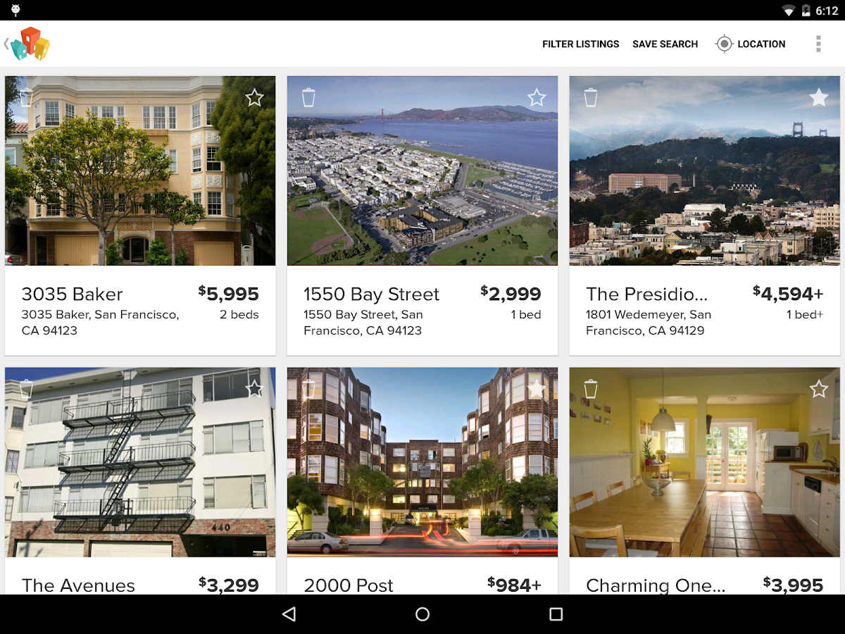 HotPads Apartments & Rentals - screenshot