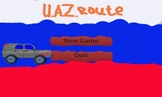 Russian UAZ route - screenshot thumbnail