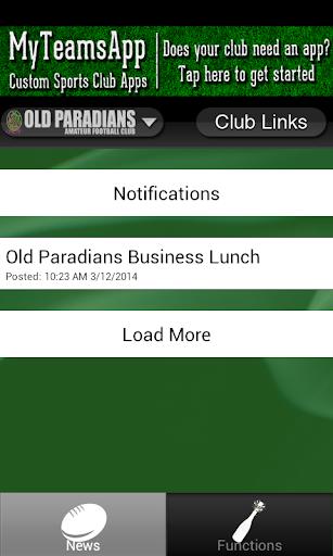 【免費運動App】Old Paradians/St Damians-APP點子