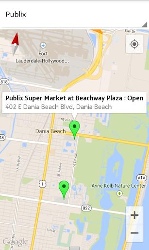 Florida Groceries Finder