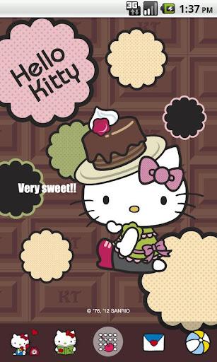 Hello Kitty SweetChocola Theme