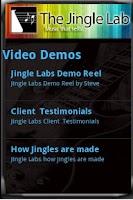 Screenshot of Jingle Lab