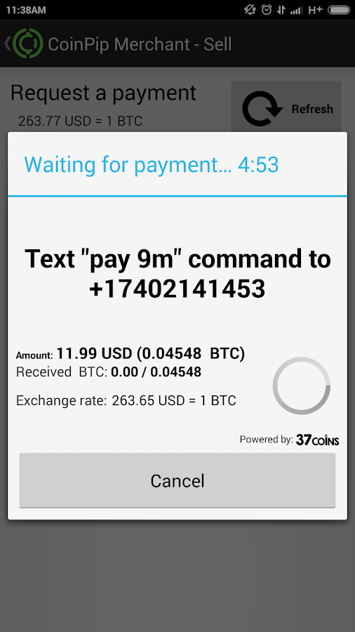 Bitcoin pay by sms : preadredese ml
