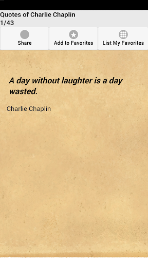 【免費娛樂App】Quotes of Charlie Chaplin-APP點子
