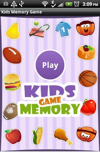 Kids Memory Game Pairs Free